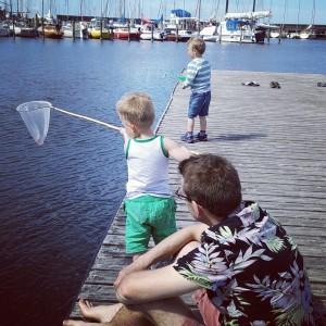 familietid på havnen