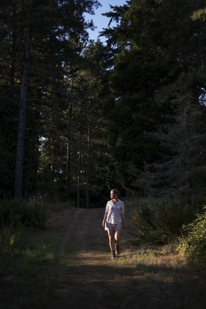 Julie Frölich. Fotograferet af Laust Jordal.